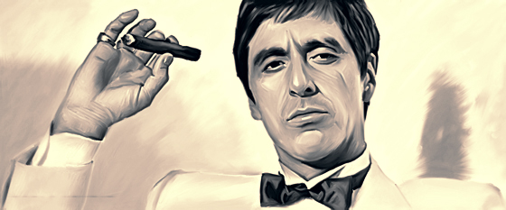 Cigars for bachelor parties scarface